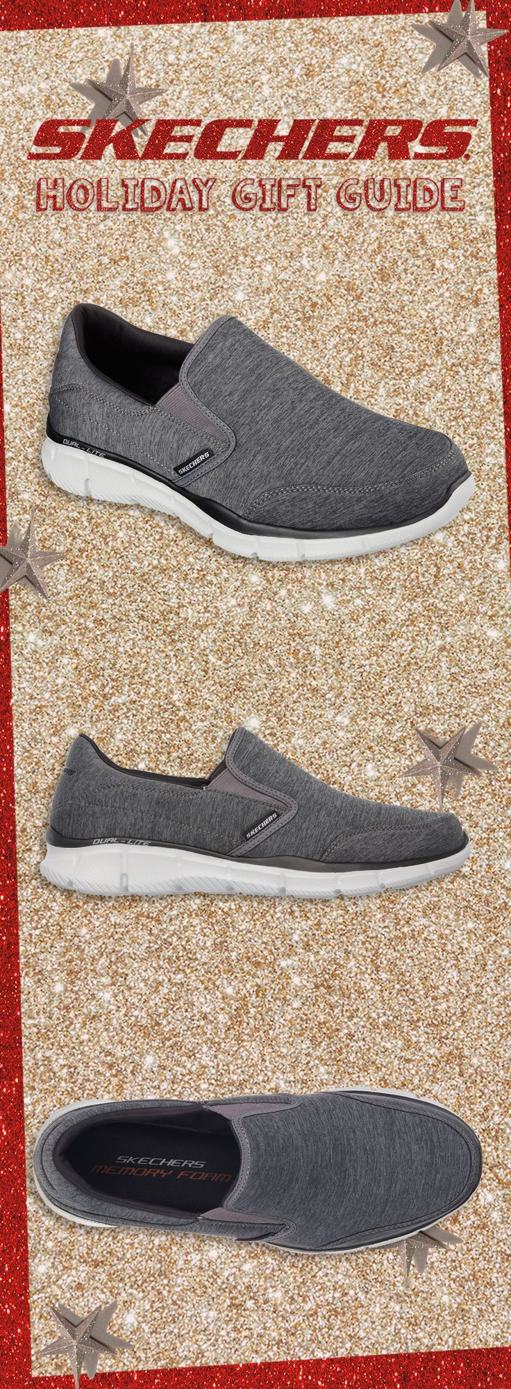 A Forward Thinking style for him. #SKECHERSholiday