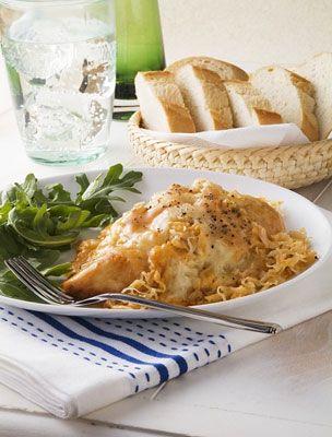 Femina - Recept - Elzászi csirkecomb recept
