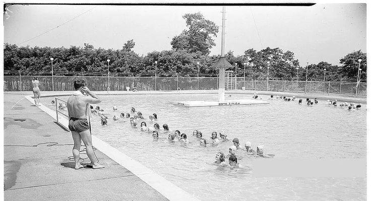 Joyland pool in 1946 lexington ky history of for Pool designs lexington ky