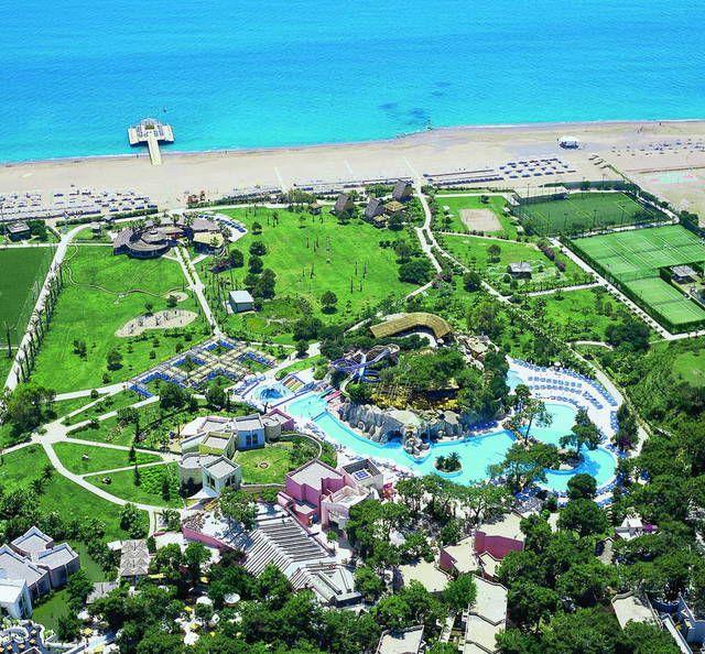 Лучшие отели в Сиде для отдыха с детьми