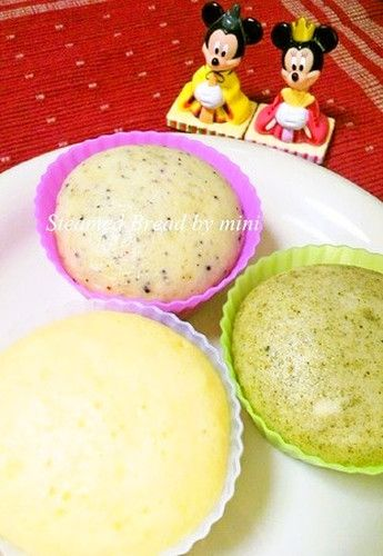 Fluffy Mushi-Pan (Steamed Cakes) - Steamer Not Needed | Recipe