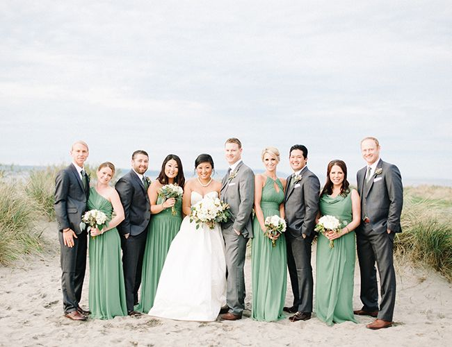 Seattle Winter Beach Wedding - Inspired By This