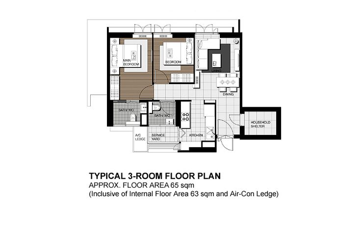 Skyterrace dawson 3 800 500 apartment interior pinterest sky floor plans and - Terras appartement lay outs ...