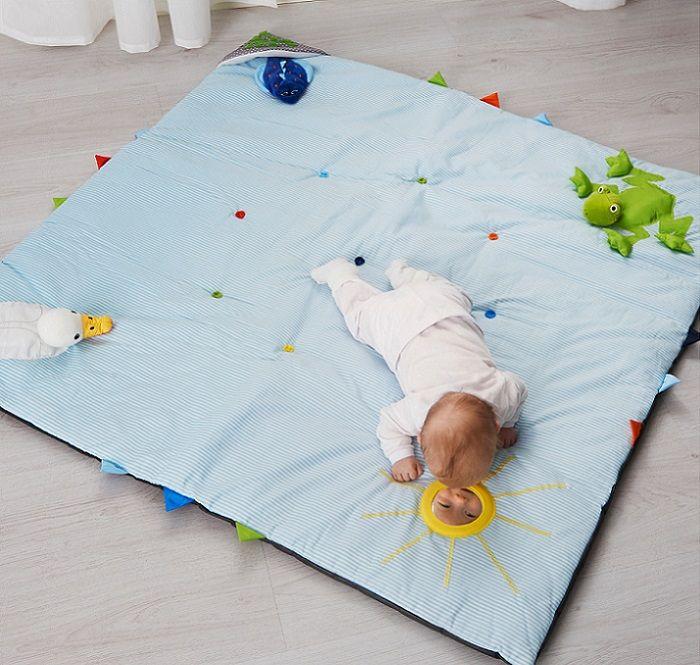 La Manta De Juegos O Actividades Para Bebés De Ikea Bebés Juguetesbebés Manta Actividades Bebe Alfombra De Juegos De Bebé Manta De Juegos Bebe