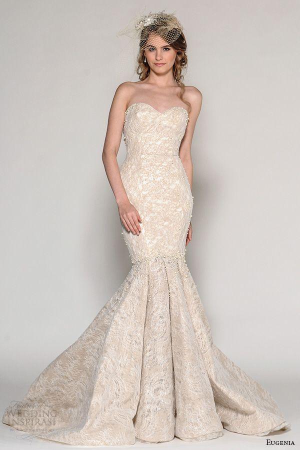 Pink Wedding Dresses Mermaid Style : Pink fall wedding dresses mermaid dress styles