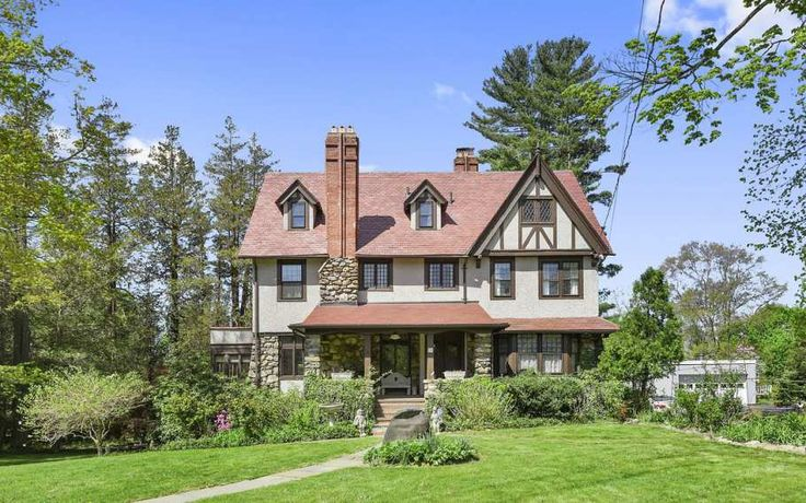 c.1909 Tudor Revival located at: 84 Croton Ave Mount Kisco, NY 10549
