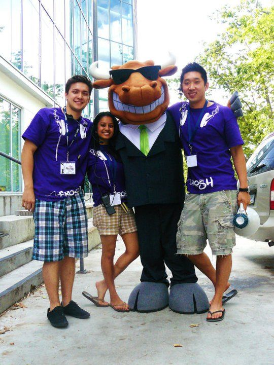 University of BC Commerce Wally the Bull Mascot! Check out more of our Mascots at: https://www.bammascots.com/