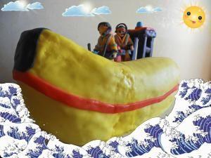 torta motoscafo Sam il pompiere