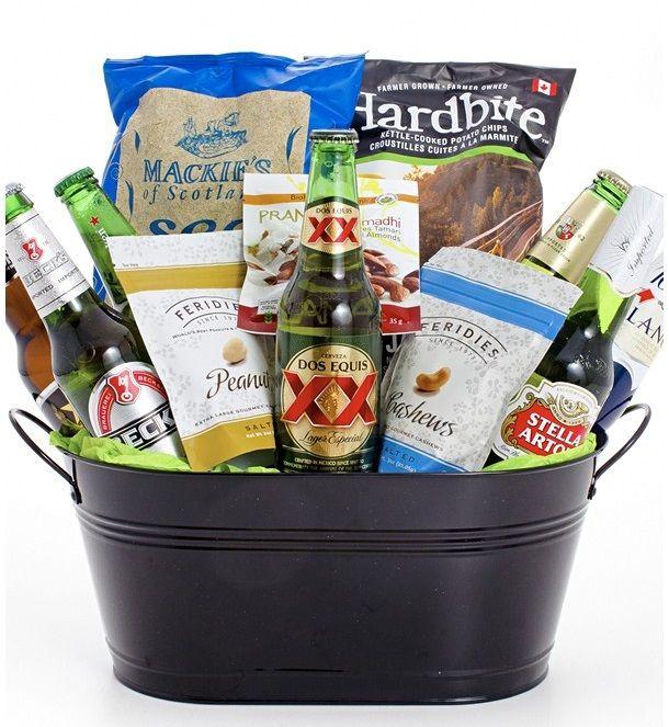 The 25+ best Beer gift baskets ideas on Pinterest | Men gift ...