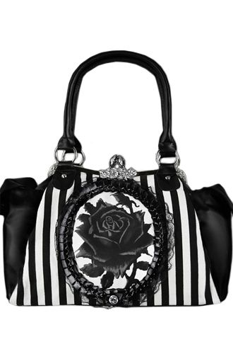 White And Black Handbags | Luggage And Suitcases