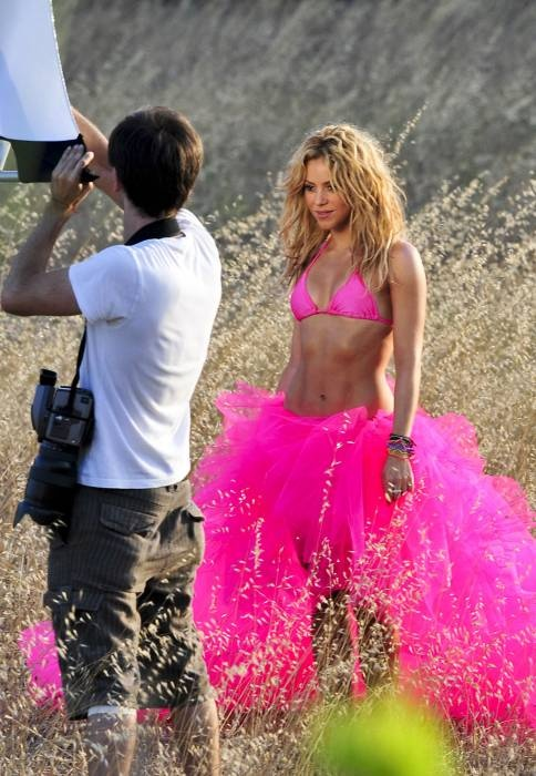 shakira I want your abs and skin