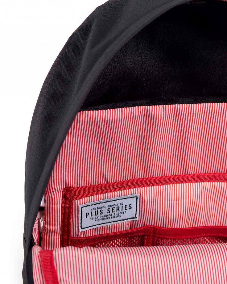 Рюкзак Herschel Sydney Plus Black купить в интернет-магазине в Москве рюкзаки цена онлайн