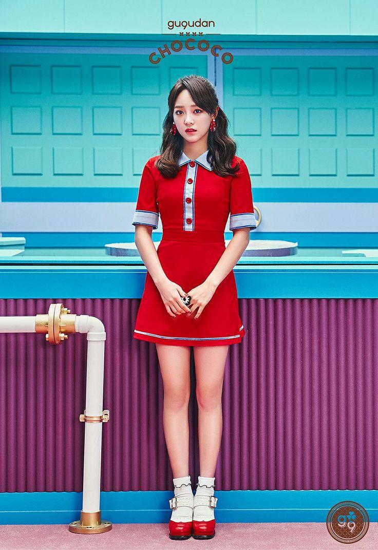 Les gugudan postent des images teasers individuelles pour la sortie de « Chococo » – K-GEN