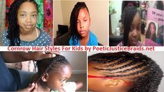 Attached are my top 5 cornrow styles for kids with video tutorials, tips. Nothing better than trying different Cornrow styles for kids with different looks.