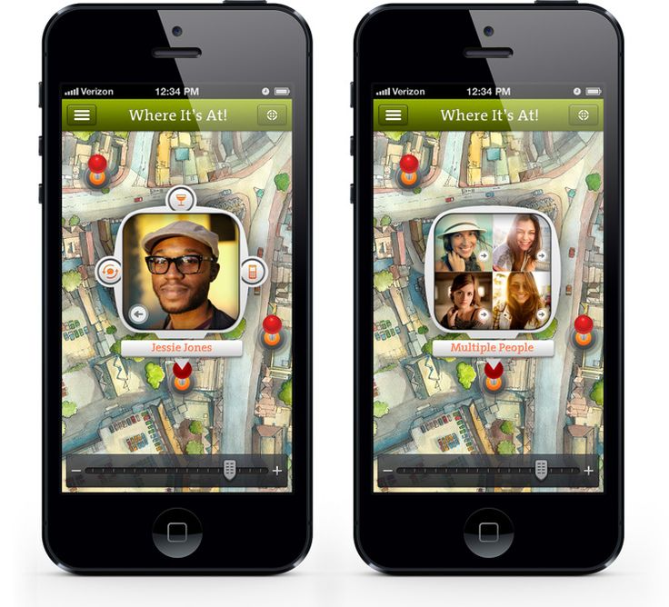 Where it's at! Mobile App