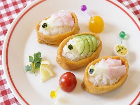 鯉のぼり稲荷寿司