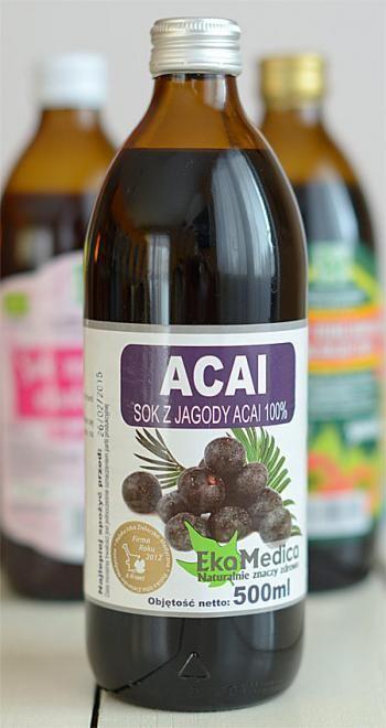 Sok z jagód Acai