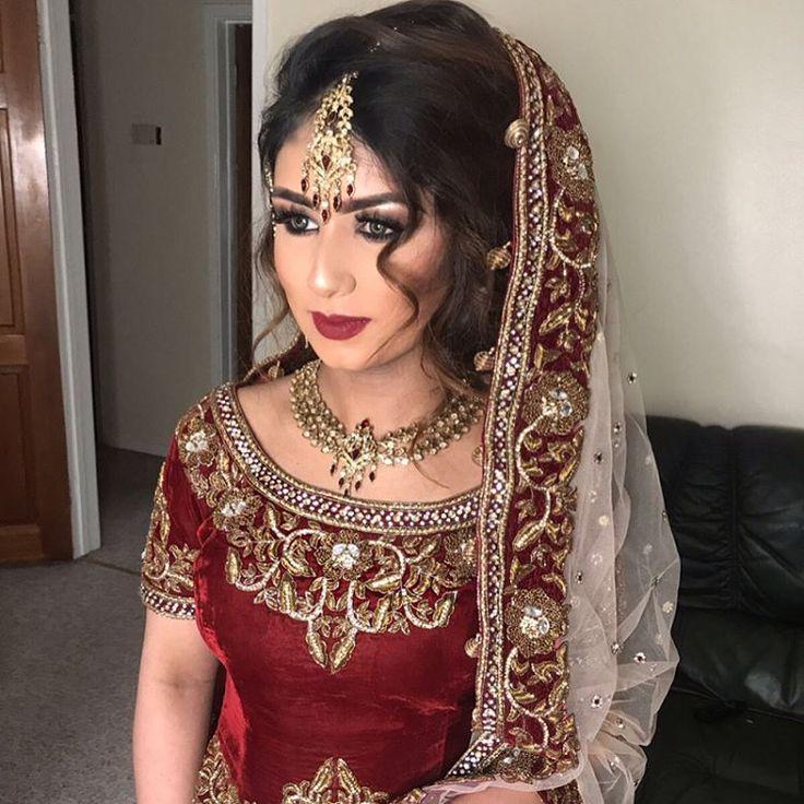 Absolute stunner! Bridal make-over on Sophia! She's too beautiful mA ❤️ Hair and makeup by me --------------------------------- #anastasiabeverlyhills #hudabeauty #amrezy #desiperkins #shophudabeauty #dressyourface #vegas_nay#bridalfashion #bridalmakeup #pakistanilookbook#pakistanicoutoure#productdetails#bridalmakeover#mac #lashes#highlighter #makeupbymaryamxo #surreymua #londonmua #lashhouse #makeupjunkie #jefreestar #desiperkins #iluvsarahii  #surreymakeupartist #londonmakeupartist #mua…