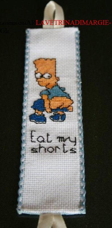 bookmark embroidered cross-stitch