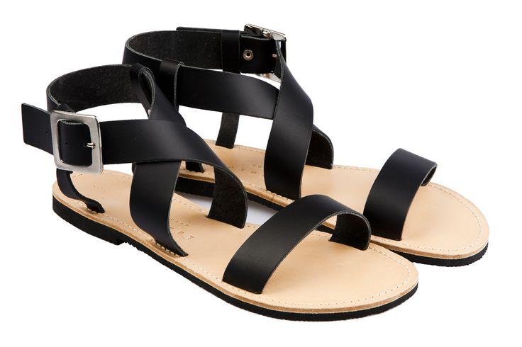 Isapera sandals : St. John in Black