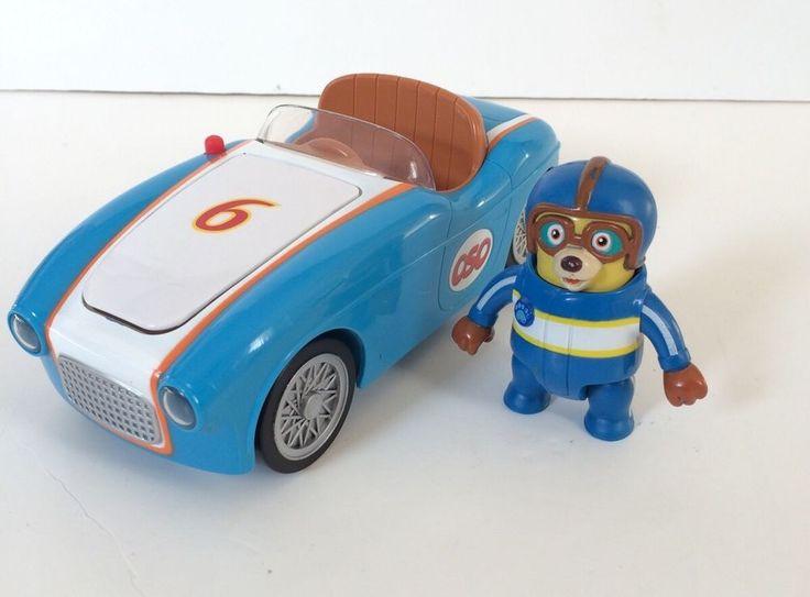 DISNEY SPECIAL AGENT OSO GO RACE CAR WITH SOUNDS LIGHTS FIGURE Disney JR #disney