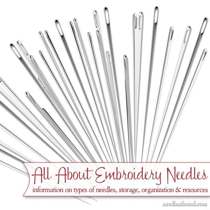 Best embroidery needles ideas on pinterest diy