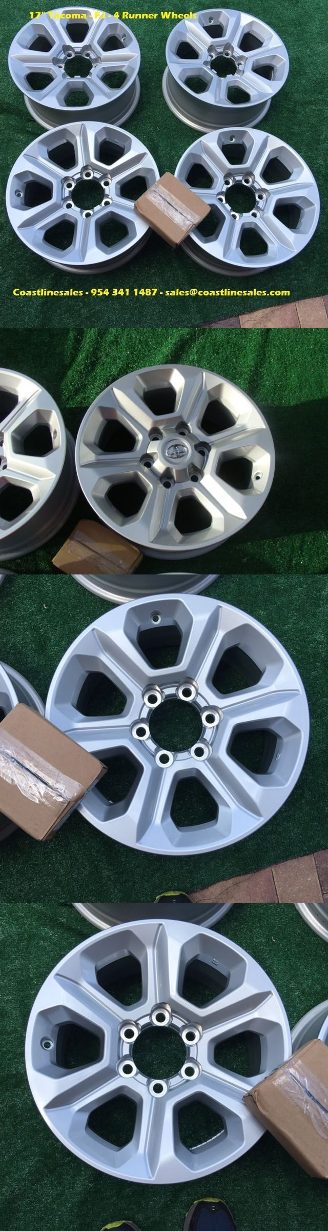 Auto parts general 17 toyota 4 runner tacoma fj factory oem wheels