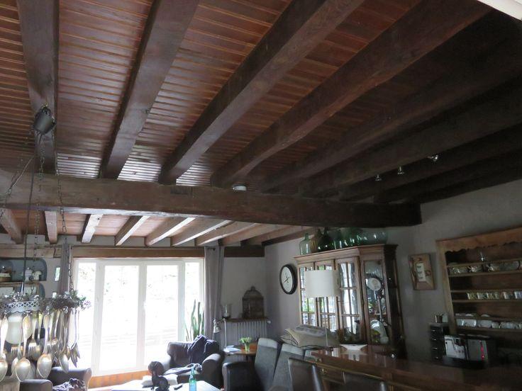 les 60 meilleures images propos de plafond poutres sur nettoyer plafond avant peinture