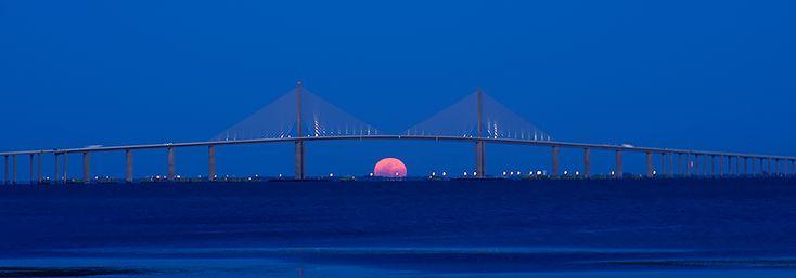 17 Best Images About Sunshine Skyway Bridge On Pinterest