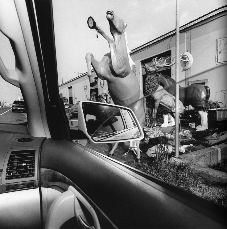 © LEE FRIEDLANDER - America By Car - California, 2008