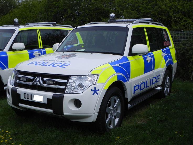 Mitsubishi Shogun - Civil Police Nuclear Constabulary