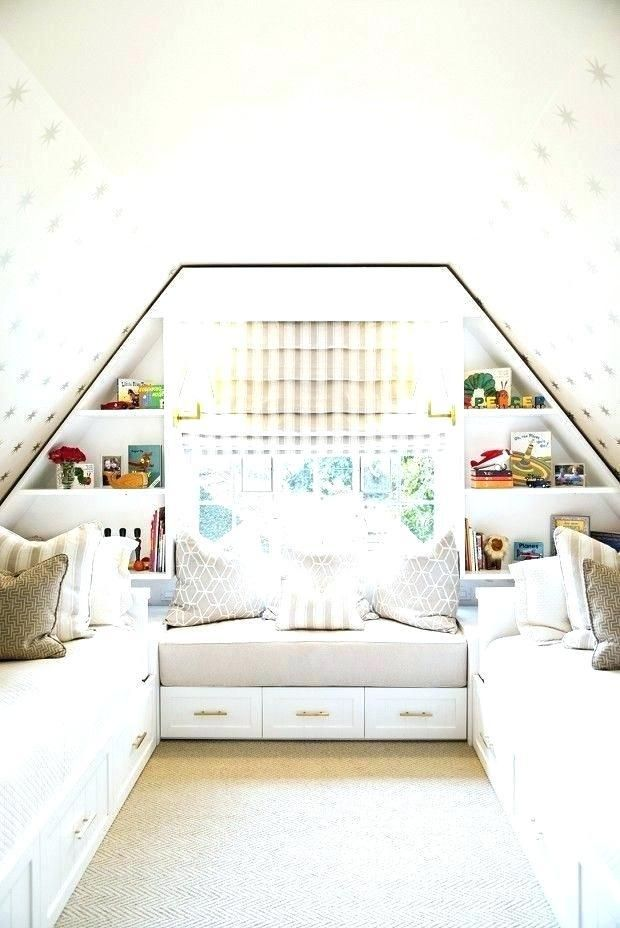 Image Result For What Color To Paint Low Vaulted Attic Ceiling Attic Bedroom Ideas Angled Ceilings Attic Bedroom Small Small Loft Bedroom