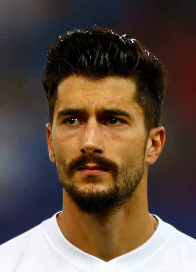 Meet Panagiotis Kone, #8 in the Greek team. | Meet The Hipster Demi-God Who Plays For The Greek World Cup Team