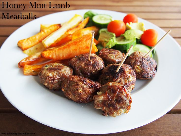 These Honey Mint Lamb Meatballs are an easy mid week meal that can double up for lunch boxes the nextContinue reading