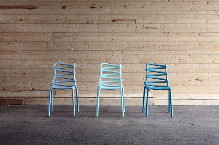 markus johansson design studio's whimsical loop chair