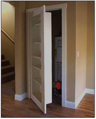 Bookcase door...to replace closet door....awesome!