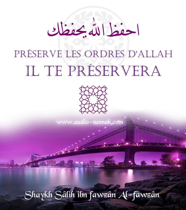 Télécharger le Fichier : Preserve_Allah_Il_te_preservera.mp3 Ce modeste audio est la traduction de l'explication de la parole prophétique : احْفَظْ اللَّهَ يَحْفَظْكَ احْفَظْ اللَّهَ تَجِدْهُ تُجَاهَكَ Préserve Allah il te préservera, préserve Allah tu...