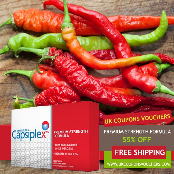 30 best uk coupons vouchers images on pinterest coupon coupons capsiplexcoupons discount code 55 off capsiplex free shipping deals fandeluxe Choice Image