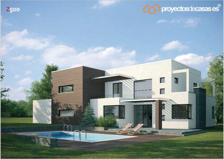 Ficha y planos de casa teide estilo contempor neo for Planos para tu casa