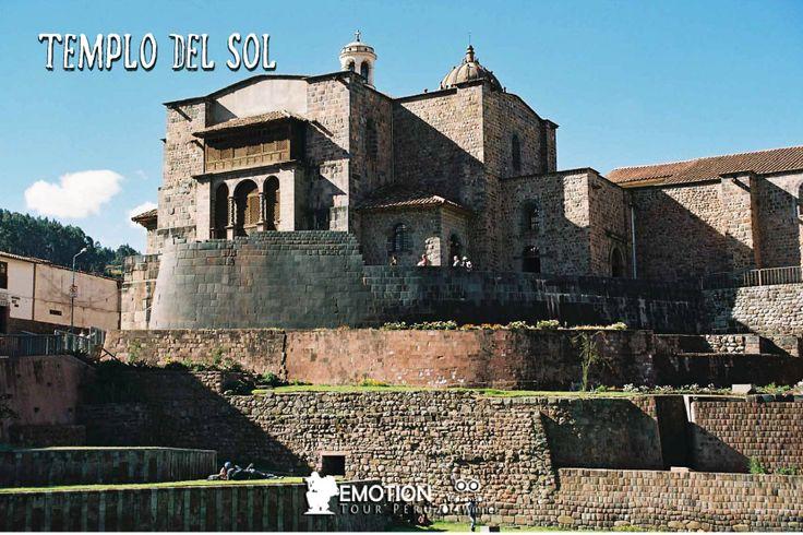 """El Templo del Sol o llamado en Quechua """"Qoricancha"""" www.emotiontourperu.com"""