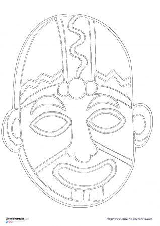 masque africain hda