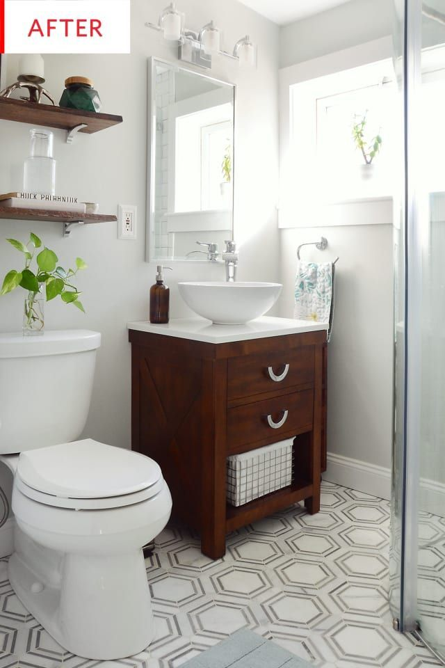 Mater Bathroom Is Totally Important For Your Home Whether You Pick The Bathroom Remodel Shiplap Or Remod Small Bathroom Makeover Tiny Bathrooms Small Bathroom