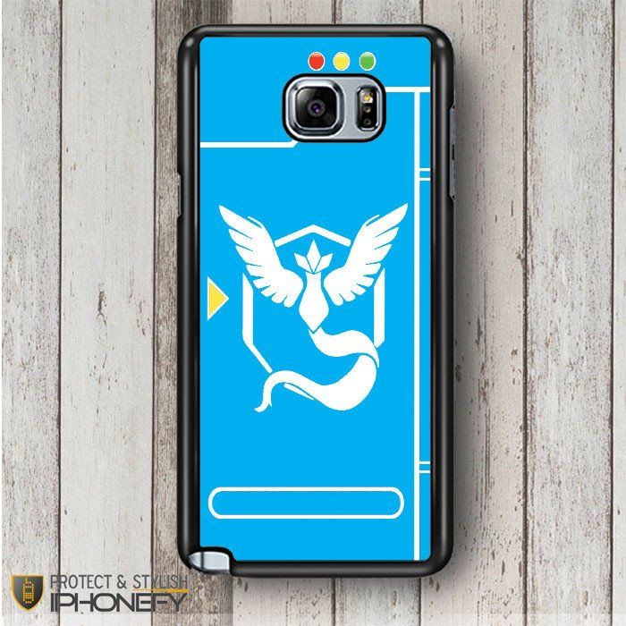 Pokemon Go Team Mystic Pokedex Samsung Galaxy Note 4|5 Case|iPhonefy