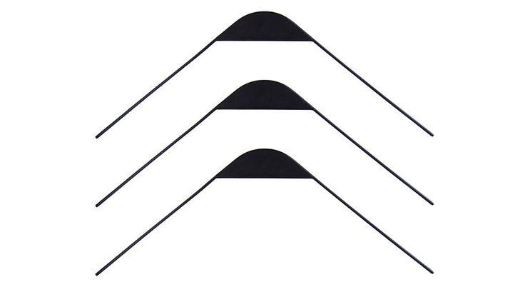 Flow Design   3 Cliq Hangers - Black
