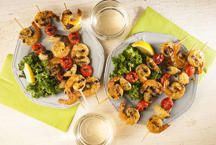 Savory Spice Shop Recipe - Citrus Marinated Shrimp Skewers