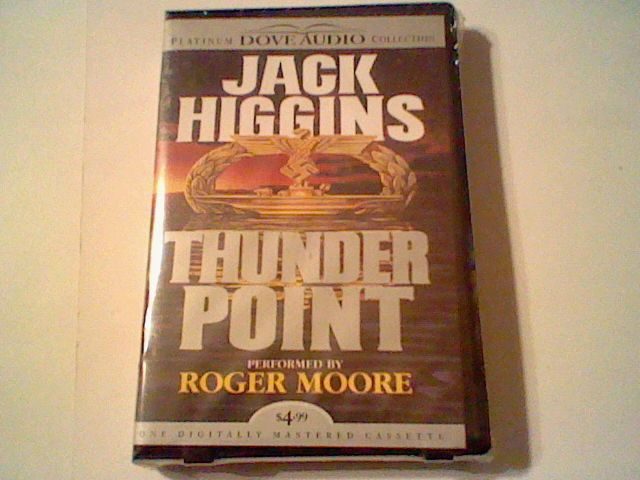 Thunder Point Jack Higgins Abridged Audiobook 1hr. read by Sir Roger Moore