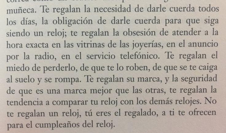 Fragmento del libro Historias de cronopios y de famas de Julio Cortázar