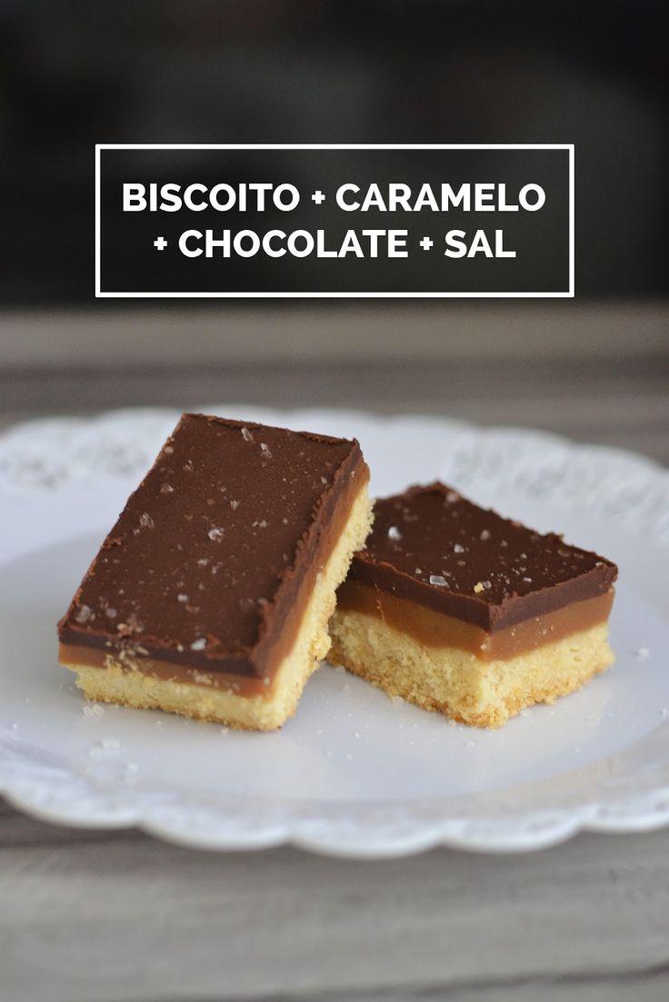 biscoito + caramelo + chocolate + sal marinho | aventuras culinárias