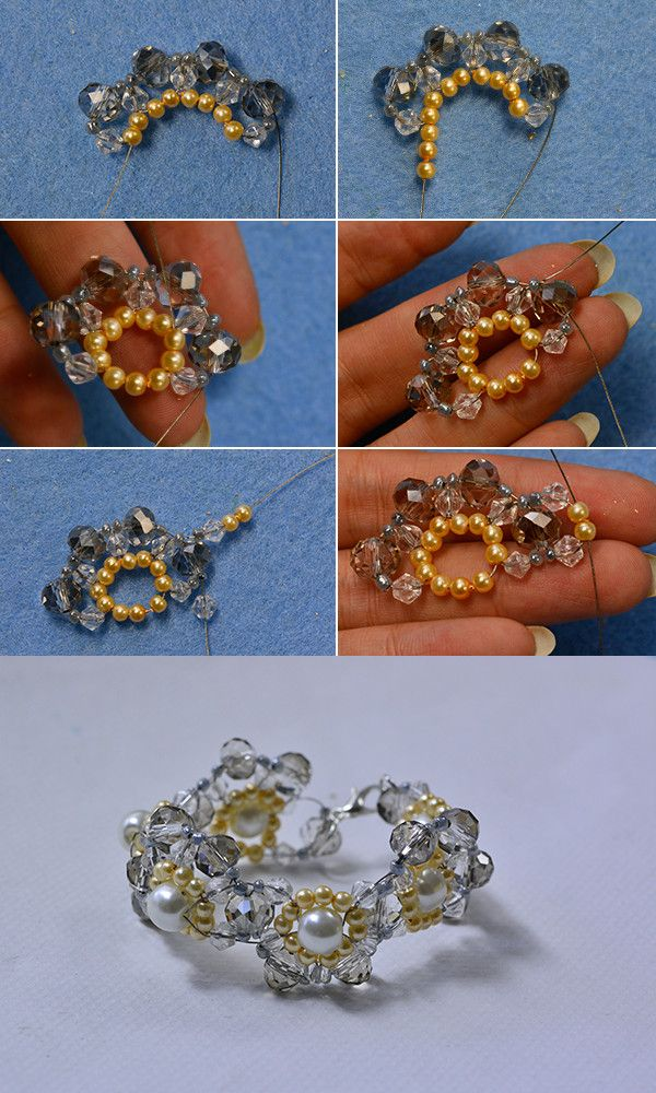 How do you think of crystal beads bracelet? LC.Pandahall.com will release the tutorial soon.