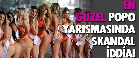 Brezilya'nın en ünlü yarışmalarından biri olan Miss BumBum, bu kez kusursuz kalçalı yarışmacılarıyla değil, bir skandalla gündemde.
